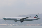 Fly Yokotayaさんが、香港国際空港で撮影したキャセイパシフィック航空 777-367/ERの航空フォト(写真)