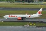 やまっちさんが、シンガポール・チャンギ国際空港で撮影したライオン・エア 737-9GP/ERの航空フォト(写真)