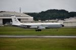 skyclearさんが、嘉手納飛行場で撮影したアメリカ空軍 WC-135C (717-158)の航空フォト(写真)