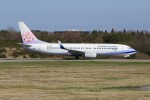 JA882Aさんが、能登空港で撮影したチャイナエアライン 737-809の航空フォト(写真)