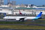 JA946さんが、羽田空港で撮影したガルーダ・インドネシア航空 777-3U3/ERの航空フォト(写真)