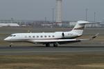 ウッディーさんが、新千歳空港で撮影した不明 Gulfstream G650 (G-VI)の航空フォト(写真)