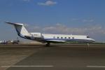 スポット110さんが、羽田空港で撮影したアメリカ企業所有 G-Vの航空フォト(写真)