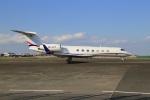 スポット110さんが、羽田空港で撮影したAvcon ジェット G-V-SP Gulfstream G550の航空フォト(写真)