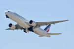 車掌さんが、関西国際空港で撮影したエールフランス航空 777-228/ERの航空フォト(写真)