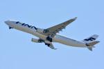 車掌さんが、関西国際空港で撮影したフィンエアー A330-302Xの航空フォト(写真)