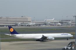 KENKEN25さんが、羽田空港で撮影したルフトハンザドイツ航空 A340-642の航空フォト(写真)