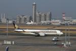 tombowさんが、羽田空港で撮影したシンガポール航空 A350-941XWBの航空フォト(写真)