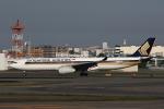 MOHICANさんが、福岡空港で撮影したシンガポール航空 A330-343Eの航空フォト(写真)