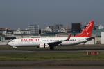 MOHICANさんが、福岡空港で撮影したイースター航空 737-808の航空フォト(写真)