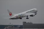 yumeさんが、新千歳空港で撮影した日本航空 767-346/ERの航空フォト(写真)