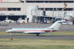 cassiopeiaさんが、羽田空港で撮影したビスタジェット BD-700-1A10 Global 6000の航空フォト(写真)