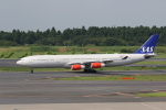 MA~RUさんが、成田国際空港で撮影したスカンジナビア航空 A340-313Xの航空フォト(写真)