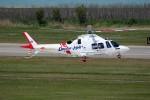 もぐ3さんが、新潟空港で撮影した静岡エアコミュータ AW109SP GrandNewの航空フォト(写真)