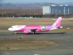 いおんさんが、新千歳空港で撮影したピーチ A320-214の航空フォト(写真)