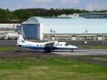よんすけさんが、調布飛行場で撮影した新中央航空 228-212の航空フォト(写真)