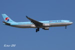 RINA-200さんが、小松空港で撮影した大韓航空 A330-323Xの航空フォト(写真)