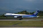 isahighさんが、鹿児島空港で撮影した全日空 767-381の航空フォト(写真)