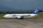 isahighさんが、鹿児島空港で撮影した全日空 767-381/ERの航空フォト(写真)