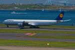 Simeonさんが、羽田空港で撮影したルフトハンザドイツ航空 A340-642Xの航空フォト(写真)