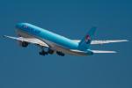 Simeonさんが、羽田空港で撮影した大韓航空 777-2B5/ERの航空フォト(写真)