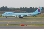 PASSENGERさんが、成田国際空港で撮影した大韓航空 747-4B5F/ER/SCDの航空フォト(写真)