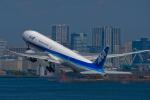 Simeonさんが、羽田空港で撮影した全日空 777-381/ERの航空フォト(写真)