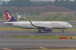 PASSENGERさんが、成田国際空港で撮影したマカオ航空 A320-232の航空フォト(写真)