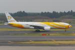 PASSENGERさんが、成田国際空港で撮影したノックスクート 777-212/ERの航空フォト(写真)