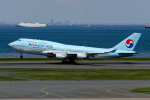 Mamoruuuuさんが、羽田空港で撮影した大韓航空 747-4B5の航空フォト(写真)
