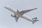 ぬいぬいさんが、関西国際空港で撮影したキャセイパシフィック航空 A350-941XWBの航空フォト(写真)