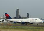 tuckerさんが、成田国際空港で撮影したデルタ航空 747-451の航空フォト(写真)