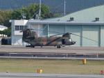 sanadaさんが、熊本空港で撮影した陸上自衛隊 CH-47JAの航空フォト(写真)