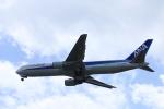 いんふぃさんが、広島空港で撮影した全日空 767-381の航空フォト(写真)