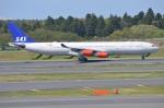 amagoさんが、成田国際空港で撮影したスカンジナビア航空 A340-313Xの航空フォト(写真)
