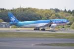 amagoさんが、成田国際空港で撮影したエア・タヒチ・ヌイ A340-313Xの航空フォト(写真)
