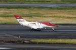 コージーさんが、羽田空港で撮影したホンダ・エアクラフト・カンパニー HA-420の航空フォト(写真)