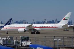 zettaishinさんが、羽田空港で撮影したアミリ フライト 787-9の航空フォト(写真)