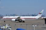 トロピカルさんが、羽田空港で撮影したアミリ フライト 787-9の航空フォト(写真)