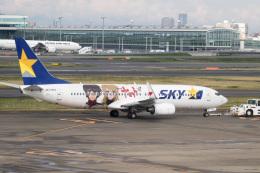 チャッピー・シミズさんが、羽田空港で撮影したスカイマーク 737-86Nの航空フォト(写真)