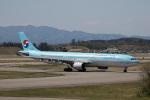 チャッピー・シミズさんが、小松空港で撮影した大韓航空 A330-323Xの航空フォト(写真)