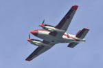 senyoさんが、三浦湾上空で撮影した海上自衛隊 TC-90 King Air (C90)の航空フォト(写真)