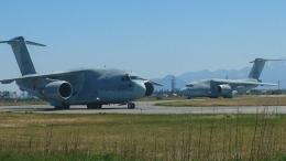 mktさんが、米子空港で撮影した航空自衛隊 C-2の航空フォト(写真)