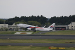 ☆ライダーさんが、成田国際空港で撮影したマレーシア航空 737-8H6の航空フォト(写真)