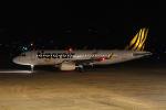 はるさんが、山口宇部空港で撮影したタイガーエア 台湾 A320-232の航空フォト(写真)