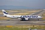 junjunskywalkerさんが、関西国際空港で撮影したフィンエアー A330-302Xの航空フォト(写真)