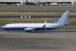 サリーちゃんのパパさんが、羽田空港で撮影したEIEイーグル 737-8EQ BBJ2の航空フォト(写真)