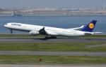 sky77さんが、羽田空港で撮影したルフトハンザドイツ航空 A340-642Xの航空フォト(写真)