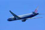 カメラマンあきさんが、関西国際空港で撮影したチャイナエアライン 777-309/ERの航空フォト(写真)