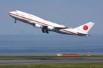 sky77さんが、羽田空港で撮影した航空自衛隊 747-47Cの航空フォト(写真)